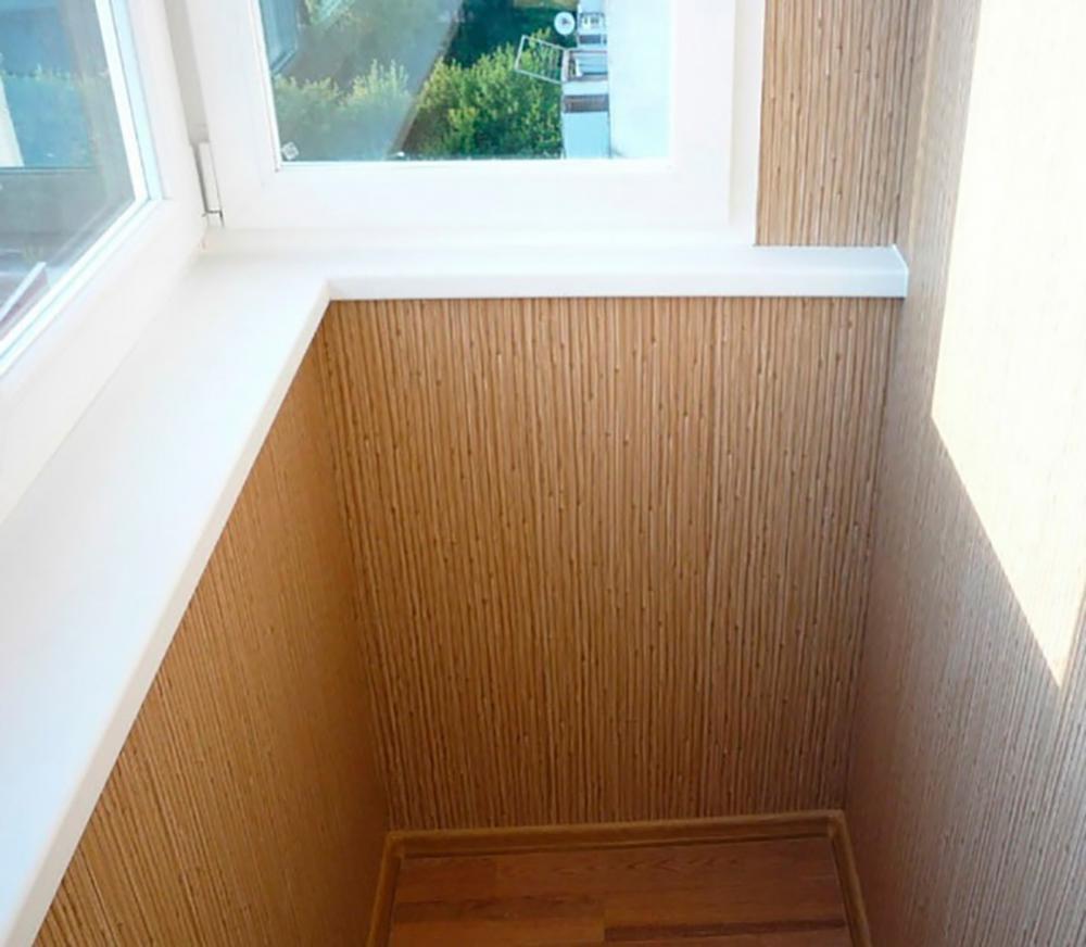 Цвета пластиковых панелей для балкона.