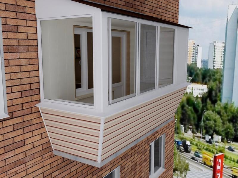 Проэкты отделки балконов с подробным описанием и материалом.